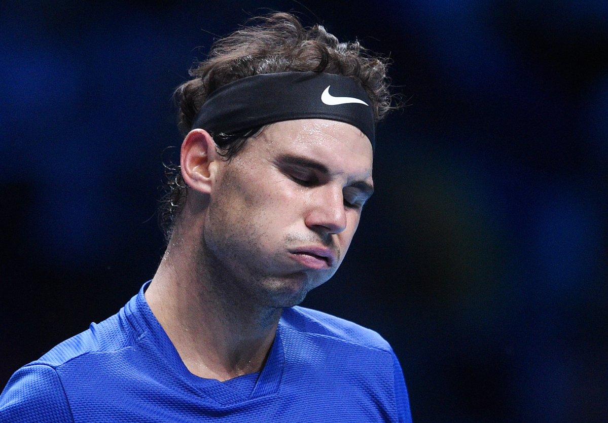 Итоговый турнир ATP. Надаль проигрывает первый матч и снимается с турнира