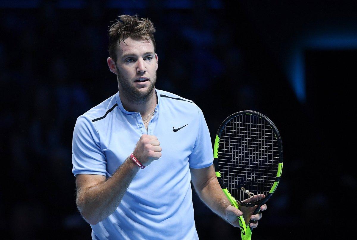 Джек Сок стал третьим полуфиналистом Итогового турнира ATP