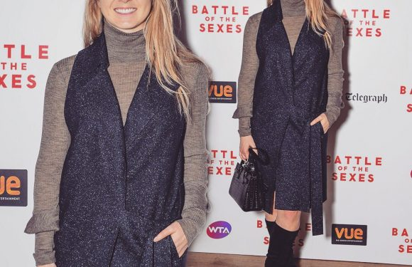 Элина Свитолина посетила премьеру фильма «Битва полов»