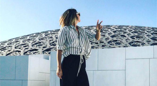 Шарапова посетила «Лувр Абу-Даби» (фото)