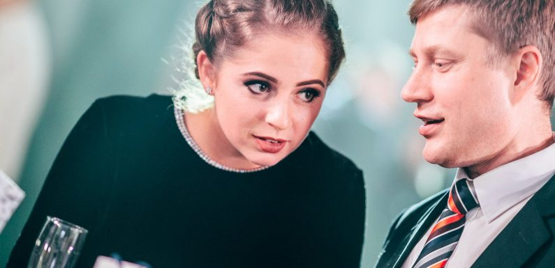 Остапенко приняла участие в танцевальном конкурсе (видео)