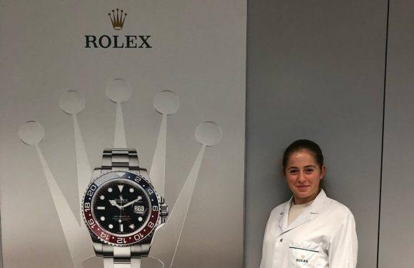 Остапенко подписала контракт с Rolex