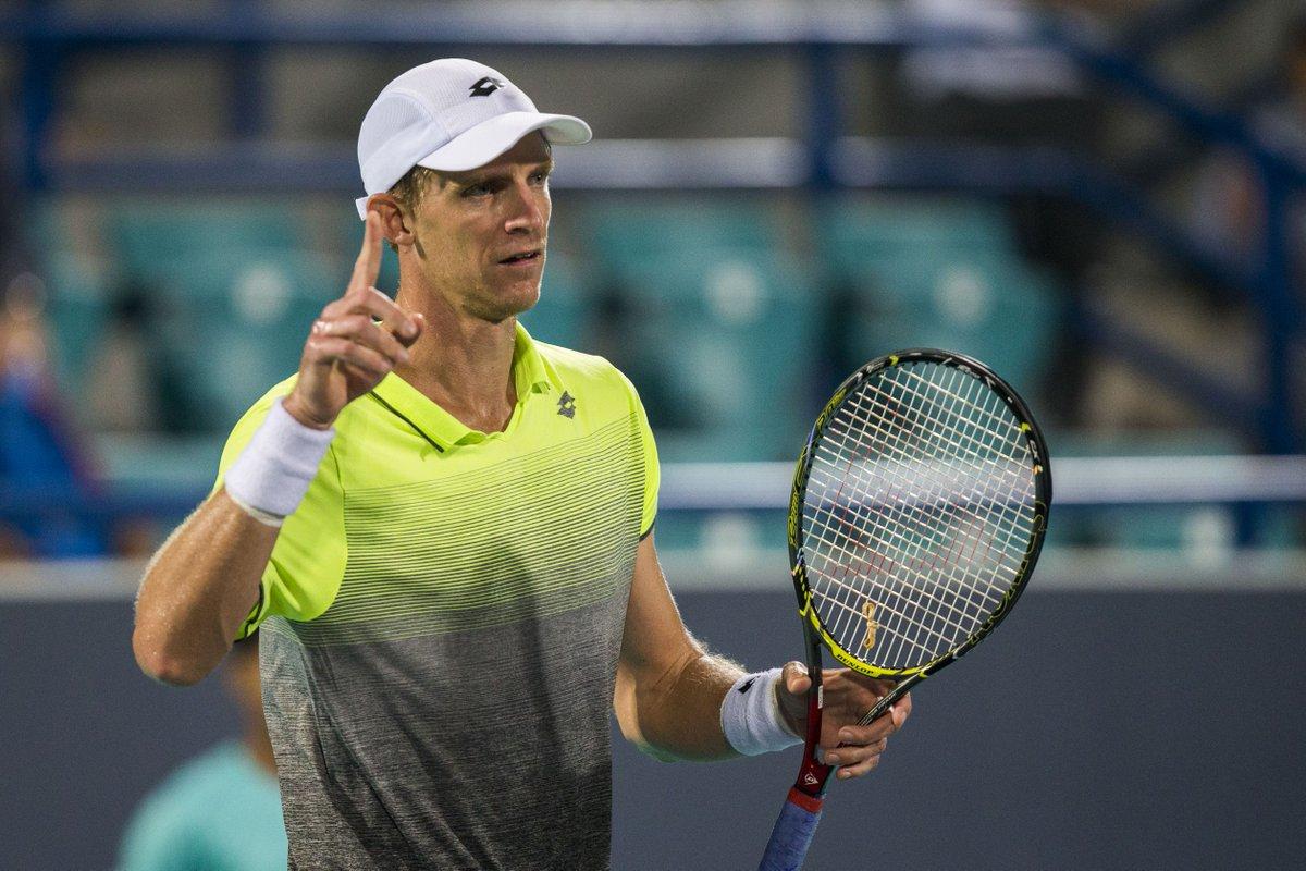 Представитель ЮАР Кевин Андерсон вышел в финал выставочного турнира с призовым фондом 250 000$ Mubadala World Tennis Championship