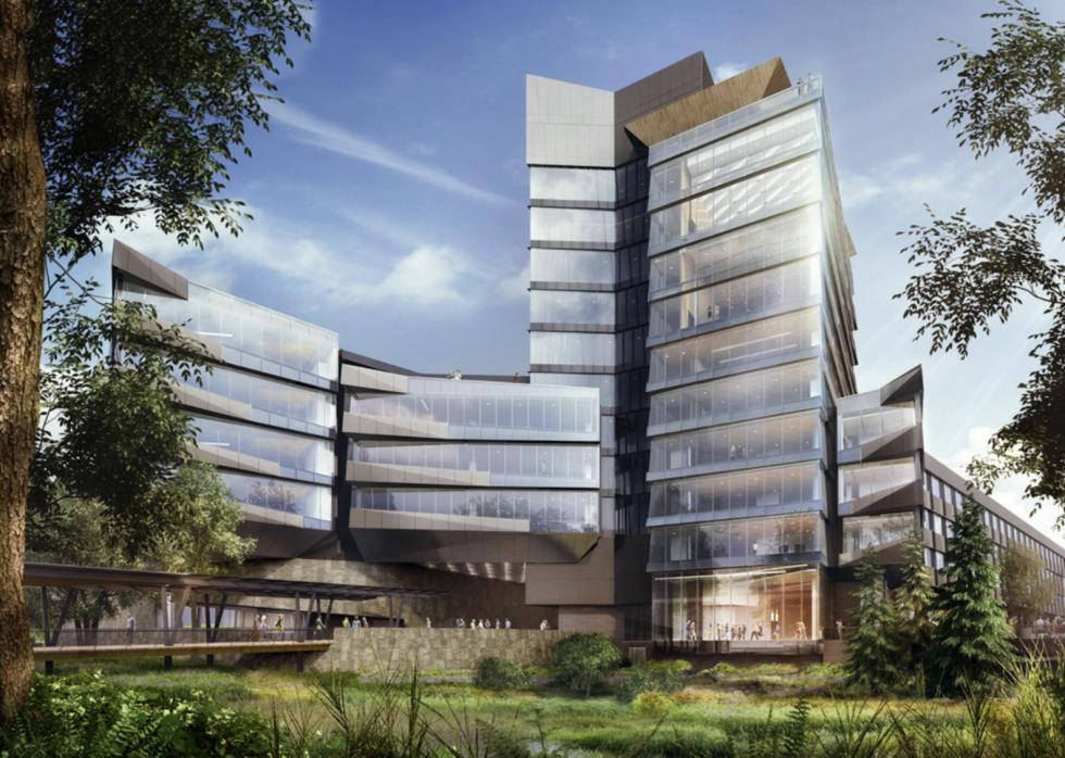 проект здания имени Серены Вильямс