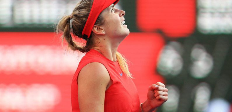 Элина Свитолина признана лучшей теннисисткой на харде по итогам 2017