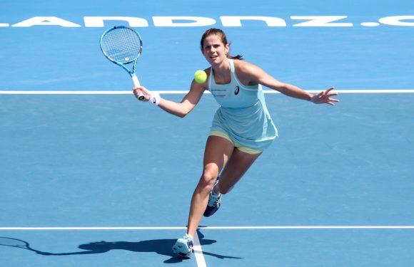 Видеообзор финала турнира WTA в Окленде Гергес-Возняцки