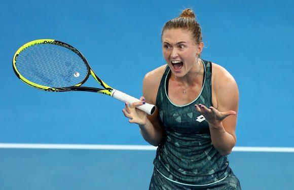 Видеообзор полуфинала турнира WTA в Брисбене Соснович — Севастова