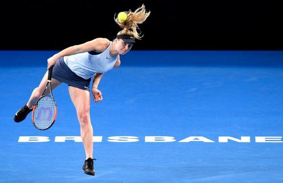 Свитолина — лидер по эйсам на турнире WTA в Брисбене