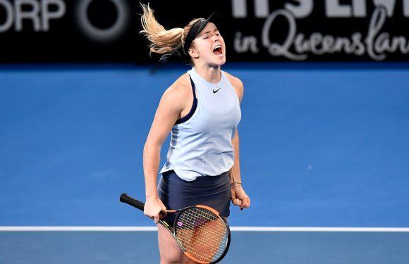 Видеообзор финала турнира WTA в Брисбене Свитолина — Соснович (дополнено)