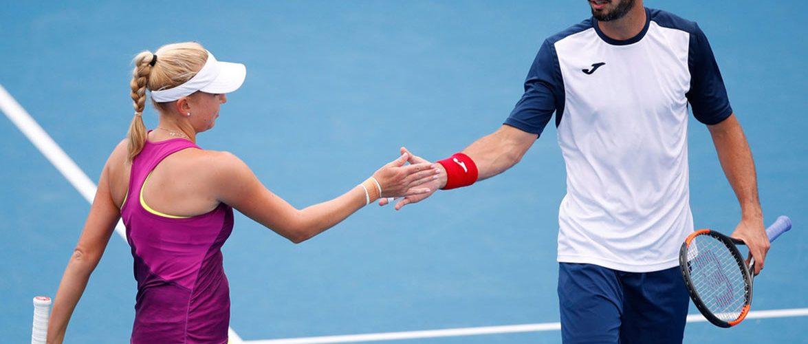 AUS Open. Надежда Киченок стартует с победы в миксте
