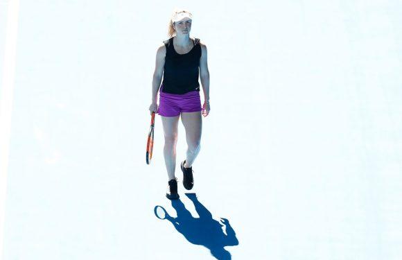 Теннис с ЮА. День второй.  Настоящие профессионалы трудятся без выходных