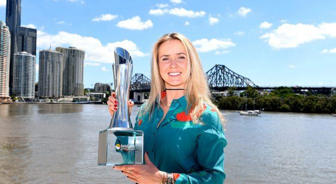 Элина Свитолина — победительница турнира WTA в Брисбене (фото, дополнено)