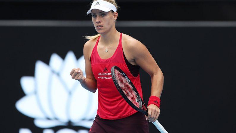 Видеообзор финала турнира WTA в Сиднее Кербер — Барти