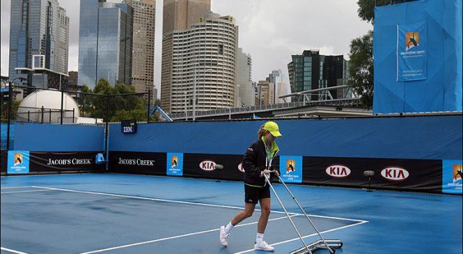 В Мельбурне дождь. Матчи квалификации AUS Open отложены