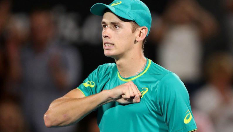 18-летний Алекс де-Минаур — в финале Sydney international