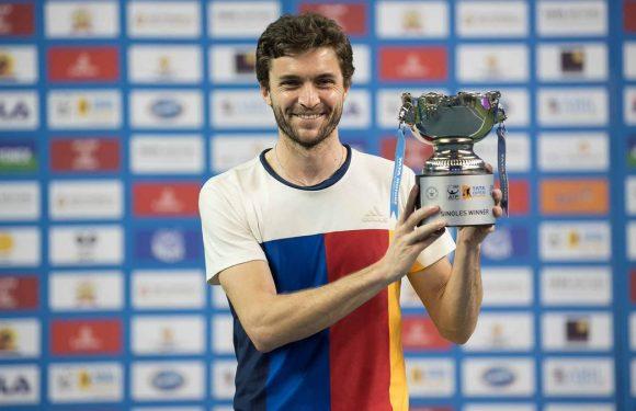 Жиль Симон выиграл титул ATP в Пуне