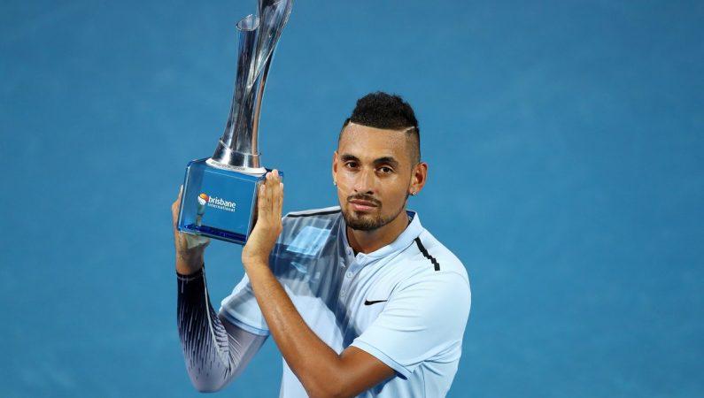 Кирьос выигрывает турнир ATP  в Брисбене