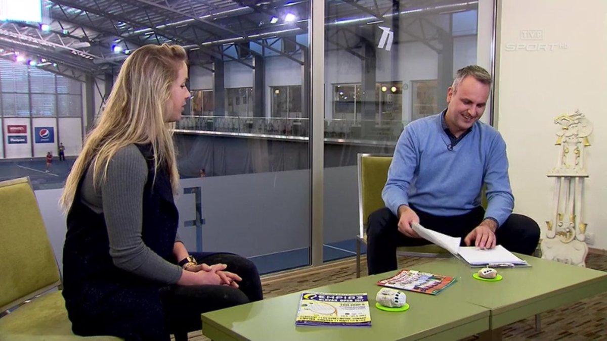 Элина Свитолина - гость польсокго телеканала Sport