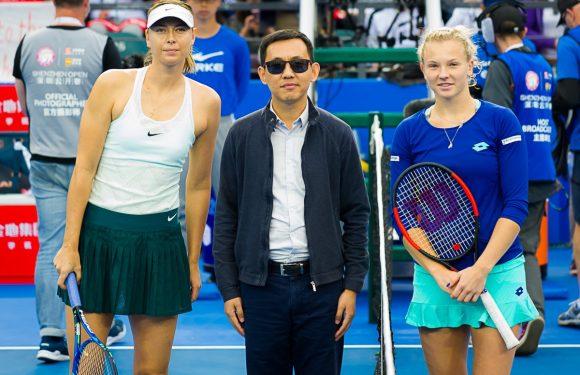 Видеообзор полуфинала турнира WTA в Шэньчжэне Синякова — Шарапова