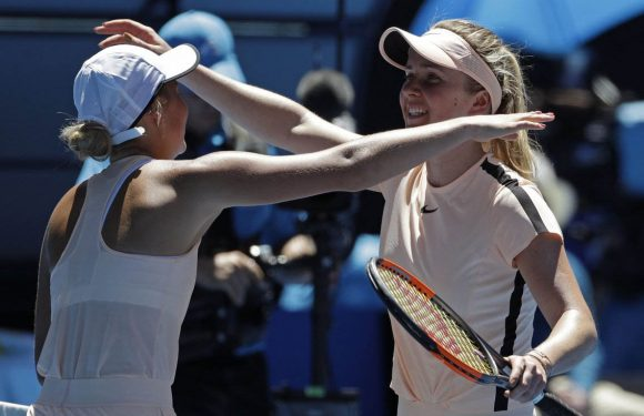 Теннис с ЮА. День шестой. Часть первая. Украинские флаги в Мельбурне