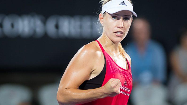 Видеообзор матча турнира WTA в Сиднее Кербер — Вильямс
