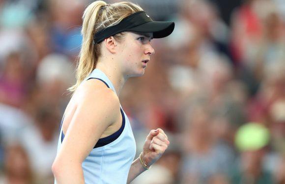 Свитолина сыграет финал турнира в Брисбене 6 января