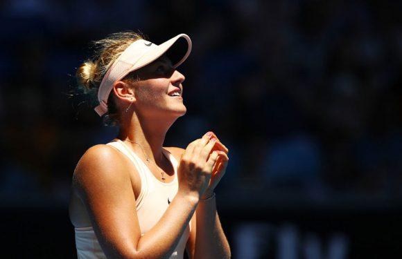 Марта Костюк решила отдохнуть на матчах Федерера