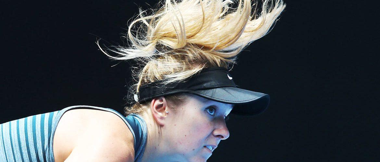 Свитолина провела тренировку на Hisense Arena