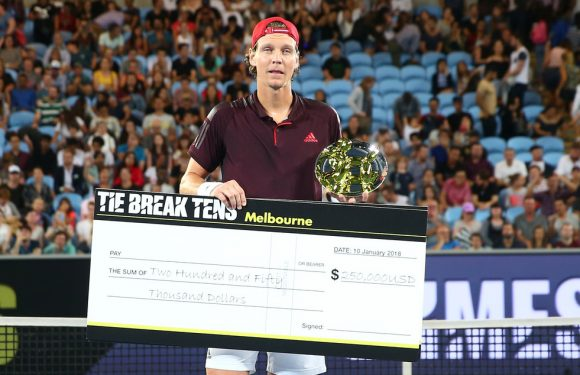 Бердых обыграл Надаля и получил 250 000$