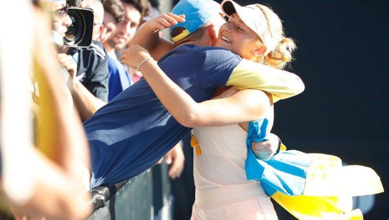 Костюк — самая юная теннисистка, выигравшая матч на AUS Open со времен Хингис