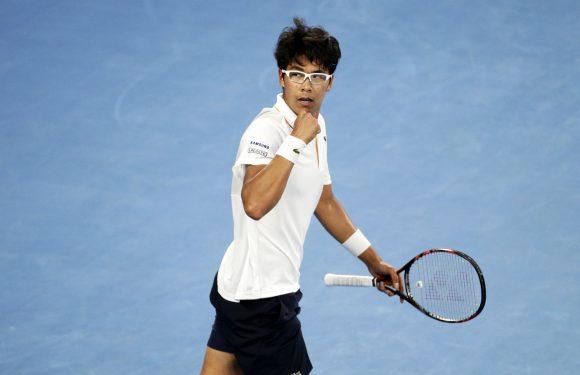 AUS Open. Джоковича останавливает 21-летний кореец