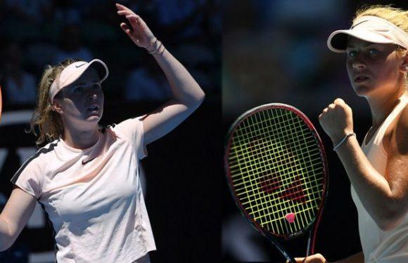 AUS Open выбрал матч Свитолиной и Костюк для ежедневного эпизода Coin Toss