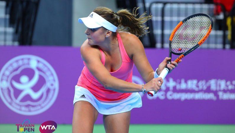 Taiwan Open. Козлова обыгрывает финалистку Уимблдона и выходит в финал