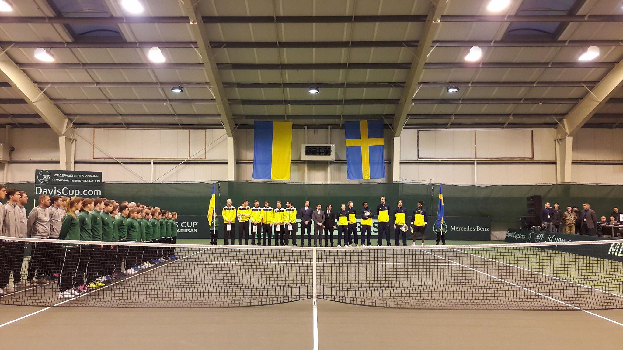 Кубок Дэвиса. Украина-Швеция 0-1