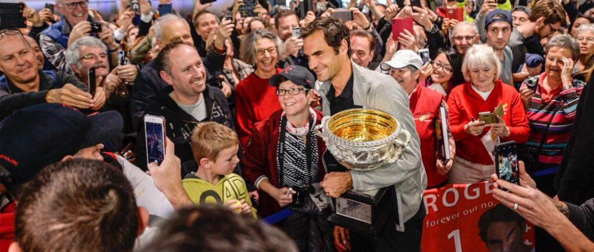 Как Федерера в Цюрихе встречали. Фоторепортаж