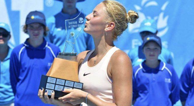 Марта Костюк выигрывает титул в Бёрни и входит в топ-200