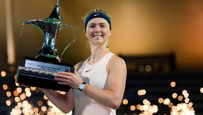 Элина Свитолина — победительница турнира WTA Premier в Дубае (фото)