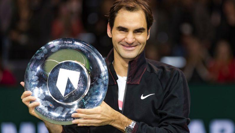 Федерер берет титул в Роттердаме и становится первым минимум на месяц