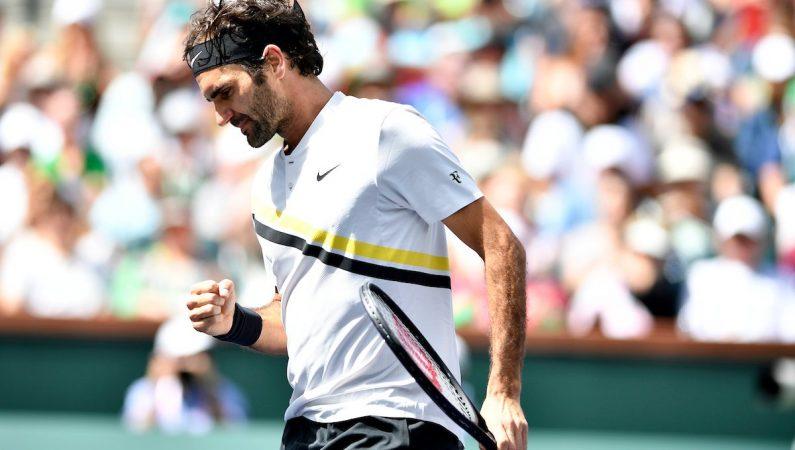 Индиан-Уэллс. Федерер выигрывает 17 матч подряд и выходит в финал