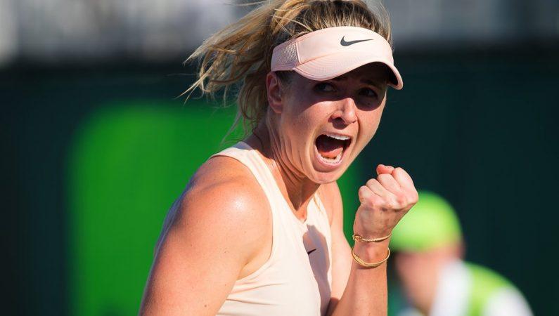 Свитолина впервые сыграет в четвертьфинале Miami open