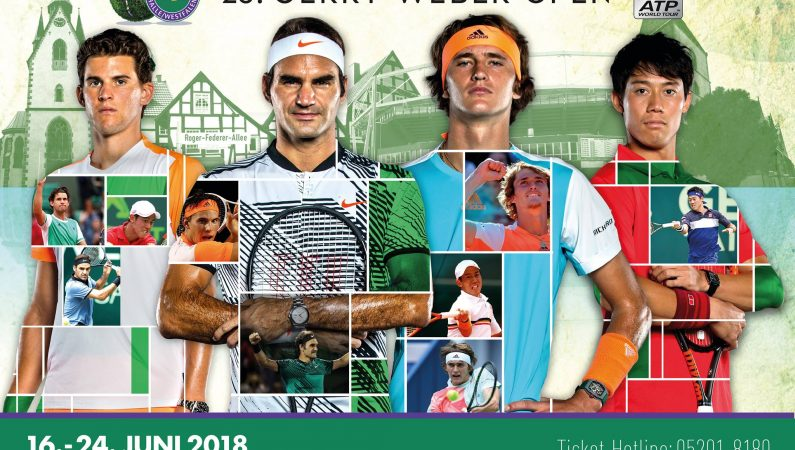 Тур на турнир ATP-500 Gerry Weber open в Халле