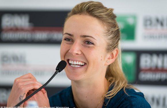 Элина Свитолина: Я счастлива на корте