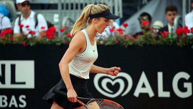 Свитолина второй год подряд выходит в финал турнира в Риме