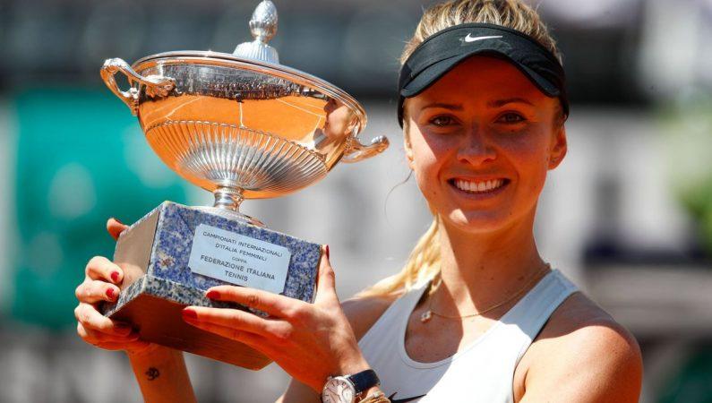 Свитолина обыгрывает первую ракетку мира и выигрывает титул в Риме