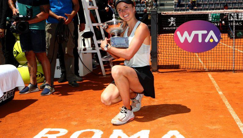Элина Свитолина: С первого же розыгрыша старалась играть агрессивно