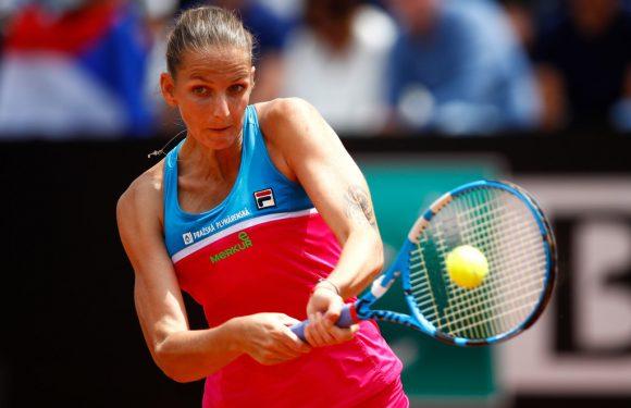 Каролина Плишкова разбила судейскую вышку после поражения от Саккари