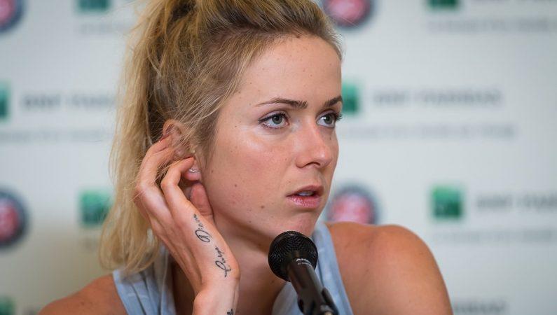 Элина Свитолина: Бузарнеску заслужила победу сегодня