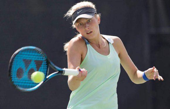 Каир. Дема впервые выходит в финал профессионального турнира ITF