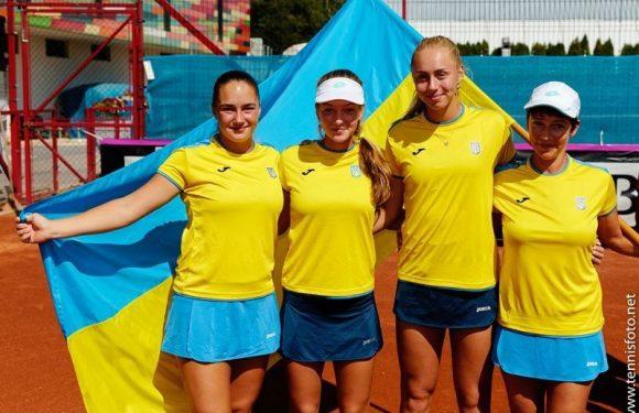 Юниорский Кубок Федерации. Сборная Украины стартует в группе D