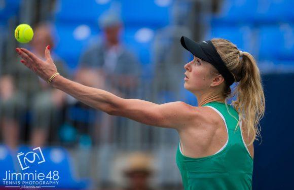 Свитолина выходит в четвертьфинал турнира в Монреале